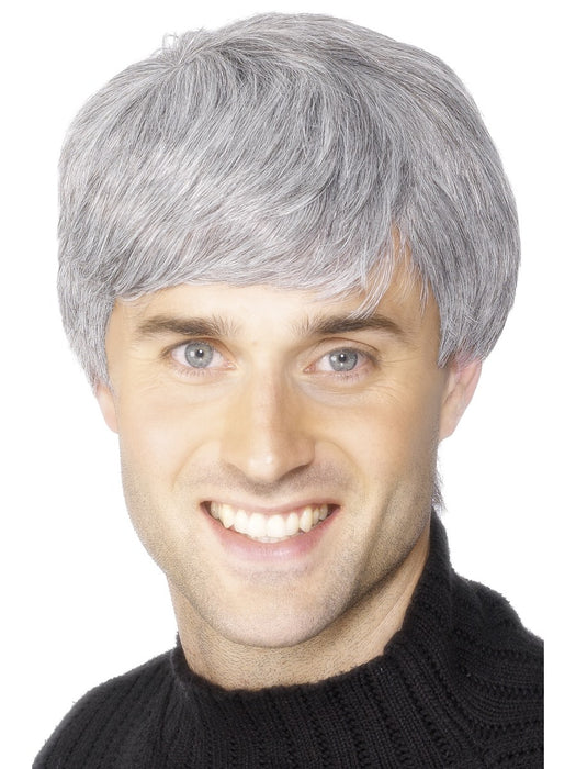 Corporate Male Grey Wig - The Ultimate Balloon & Party Shop