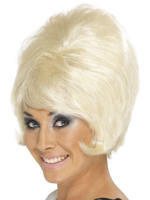 NEW 1960's Beehive Blonde Wig
