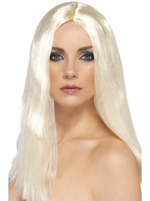 Star Style Blonde Female Wig - The Ultimate Party Shop