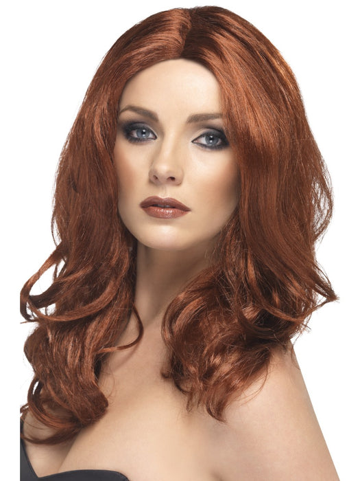 Auburn Superstar Wig - The Ultimate Party Shop