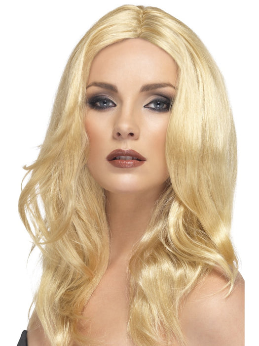 Blonde Superstar Wig - The Ultimate Party Shop