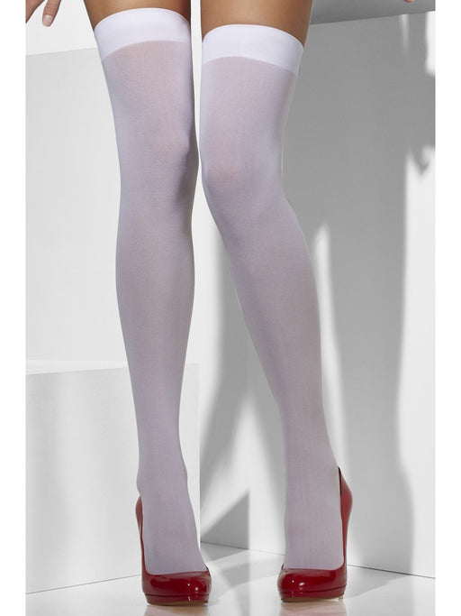 Opaque Hold-Ups - White - The Ultimate Party Shop