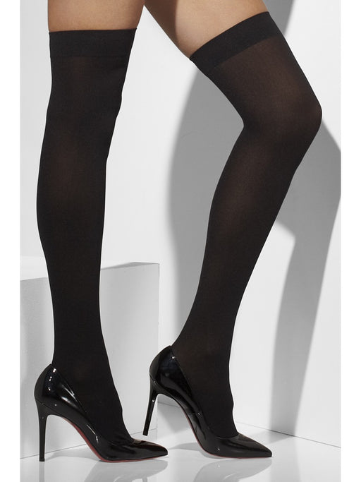Opaque Hold-Ups - Black - The Ultimate Party Shop