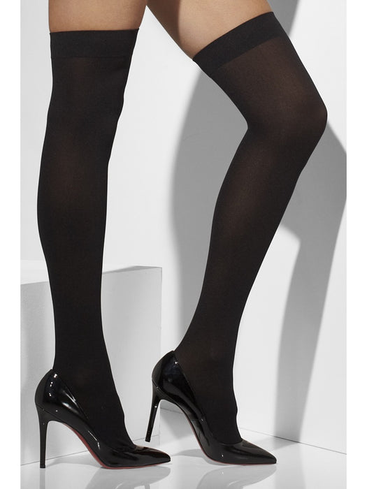 Opaque Hold-Ups - Black - The Ultimate Balloon & Party Shop