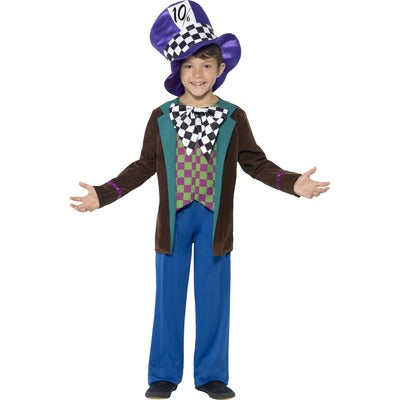 Deluxe Mad Hatter Children's Costume - The Ultimate Balloon & Party Shop