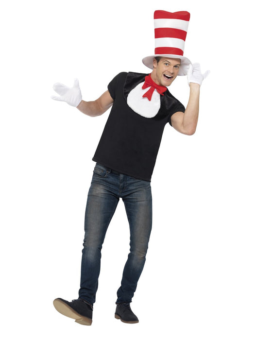 Cat In The Hat Costume Set - The Ultimate Party Shop