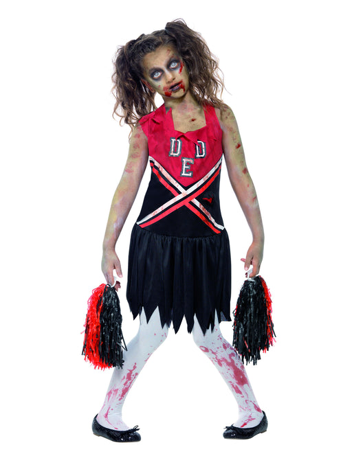 Zombie Cheerleader Child's Costume - The Ultimate Party Shop