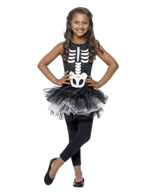 Skeleton TuTu Costume - The Ultimate Party Shop