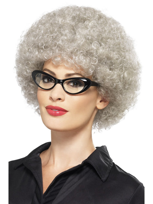 Granny Perm Grey Wig - The Ultimate Party Shop