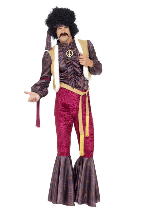 1970's Psychedelic Rocker Costume - The Ultimate Party Shop