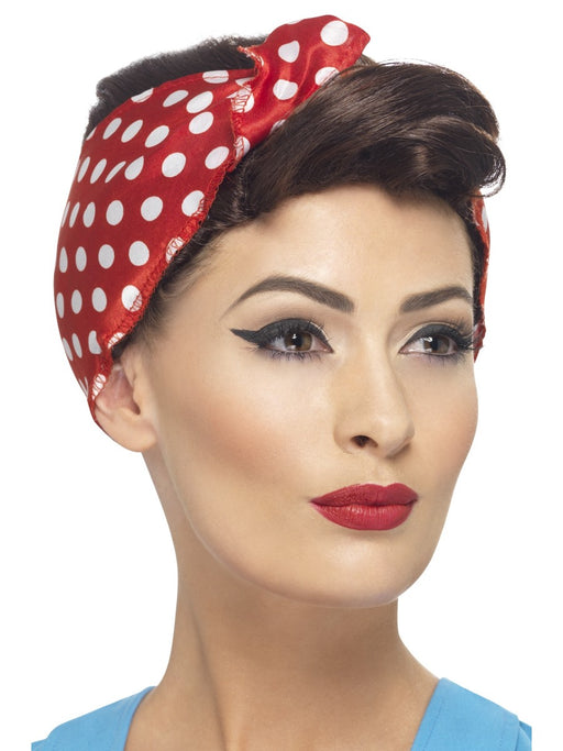 1940's Rosie Female Wig - The Ultimate Balloon & Party Shop