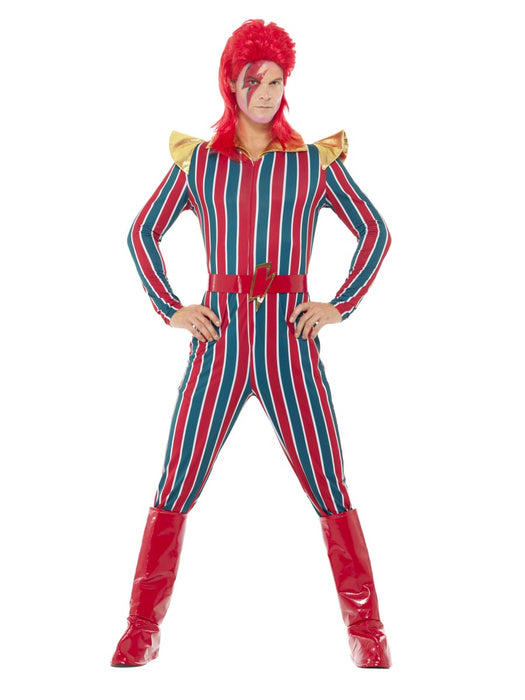 1970's Space Superstar David Bowie Costume - The Ultimate Balloon & Party Shop