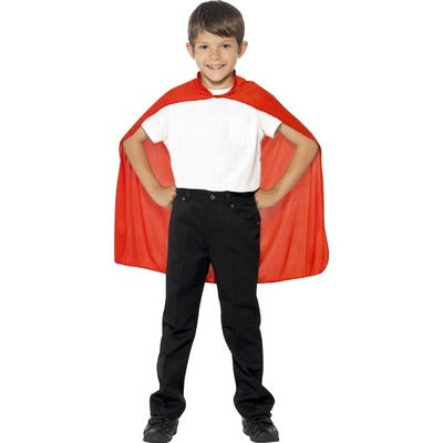 Superhero Cape - Red - Children's Costume - The Ultimate Party Shop
