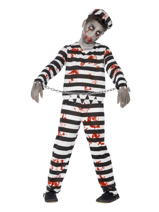Zombie Prisoner Boy Costume - The Ultimate Balloon & Party Shop