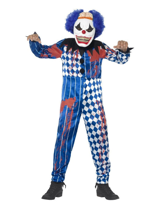 Sinister Clown Boy Costume - The Ultimate Party Shop