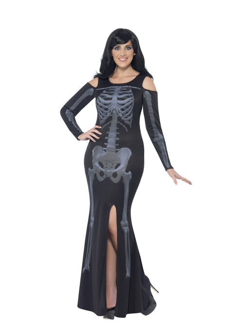 Curves Skeleton Dress Costume