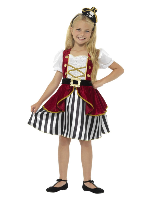 Pirate Girl Dlx Children's Costume - The Ultimate Party Shop