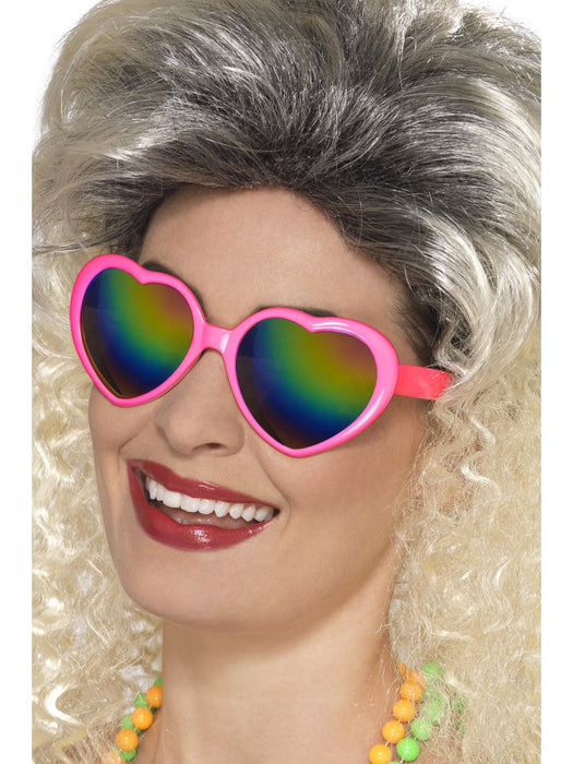 Pink Heart Glasses - The Ultimate Party Shop