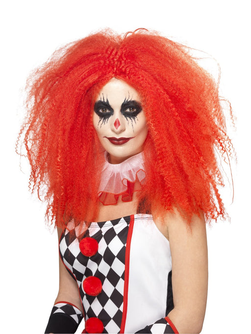 Crazy Clown Red Wig - The Ultimate Party Shop