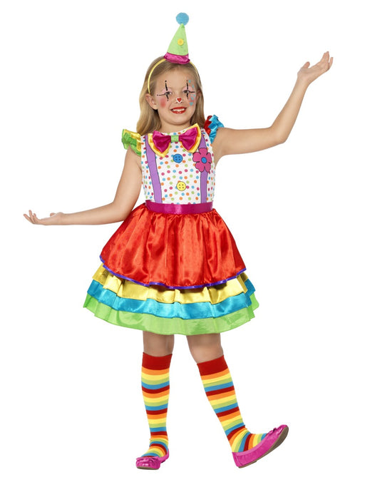 Clown Girl Deluxe Children's Costume - The Ultimate Party Shop