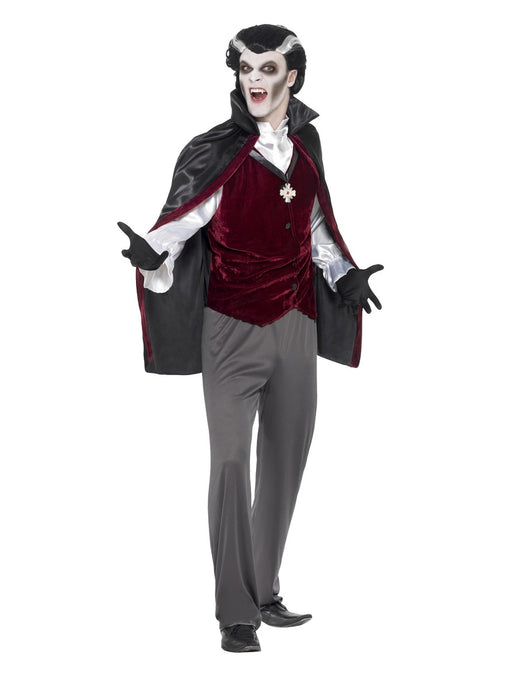 Men's Vampire Costume - The Ultimate Party Shop