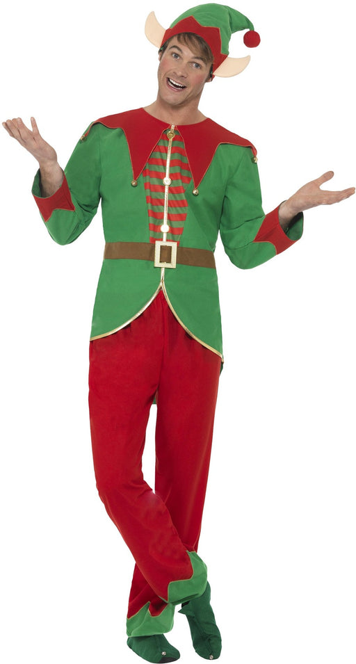Adult Jolly Elf Costume - The Ultimate Party Shop