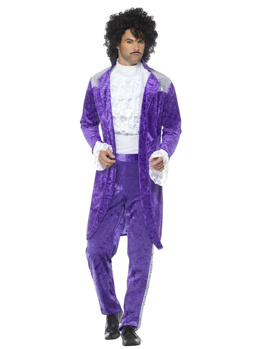 1980's Purple Rain Costume - The Ultimate Balloon & Party Shop