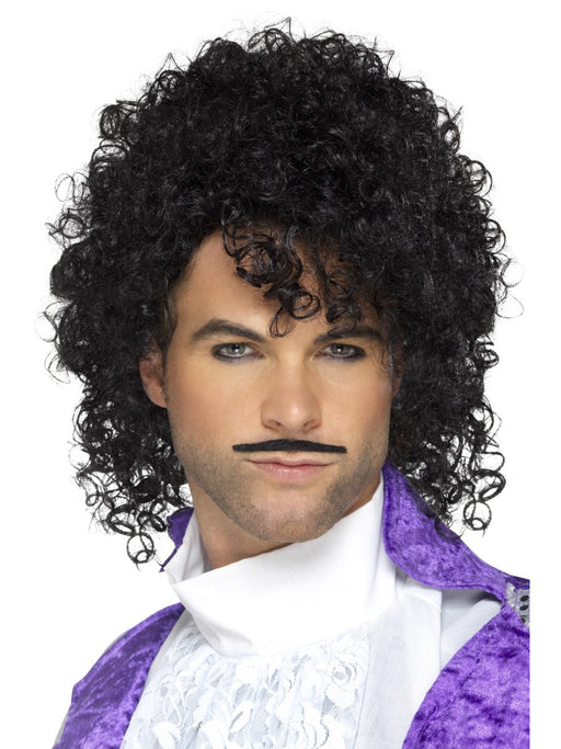 1990's Purple Musician/Prince Wig Kit - The Ultimate Party Shop