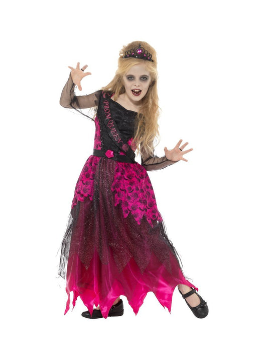 Deluxe Gothic Prom Queen Costume - The Ultimate Balloon & Party Shop
