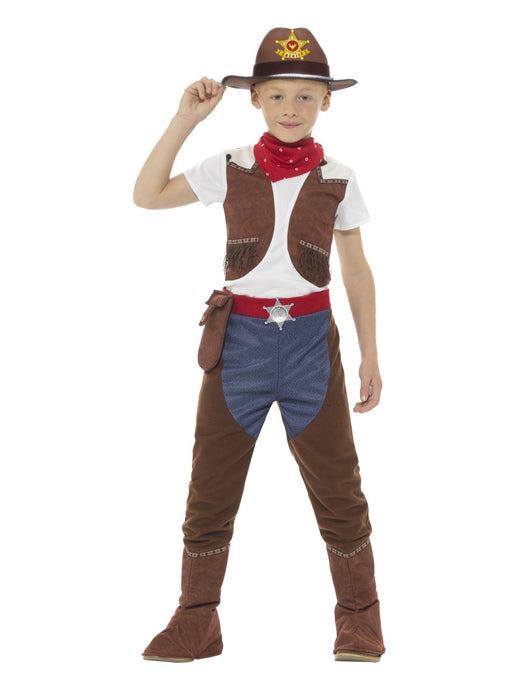Cowboy Deluxe Children's Costume - The Ultimate Party Shop