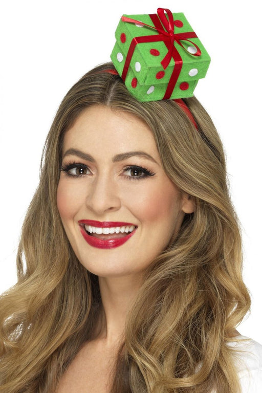 Christmas Present Headband - The Ultimate Balloon & Party Shop