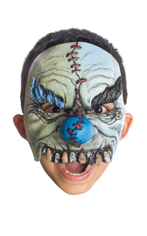 Child's Clown Half Mask - Smiles - The Ultimate Balloon & Party Shop