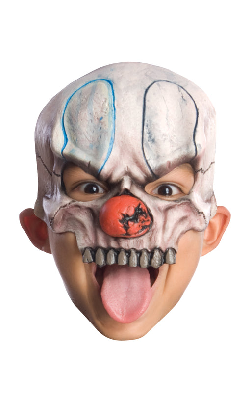 Child's Clown Half Mask - Chuckles - The Ultimate Balloon & Party Shop