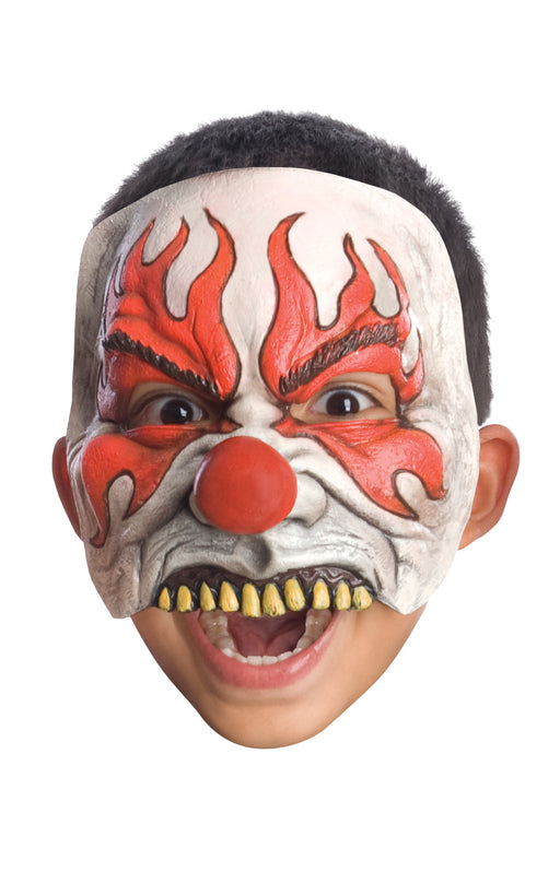 Child's Clown Half Mask - Smokey - The Ultimate Party Shop