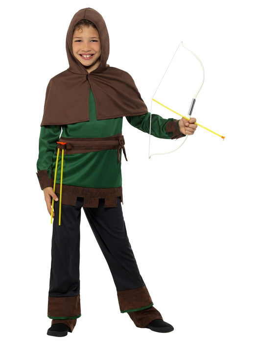 Robin Hood Dlx Child's Costume - The Ultimate Party Shop