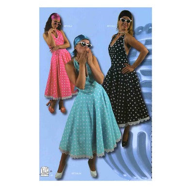 1950s Polka Dot Dress Hire Costume - The Ultimate Balloon & Party Shop