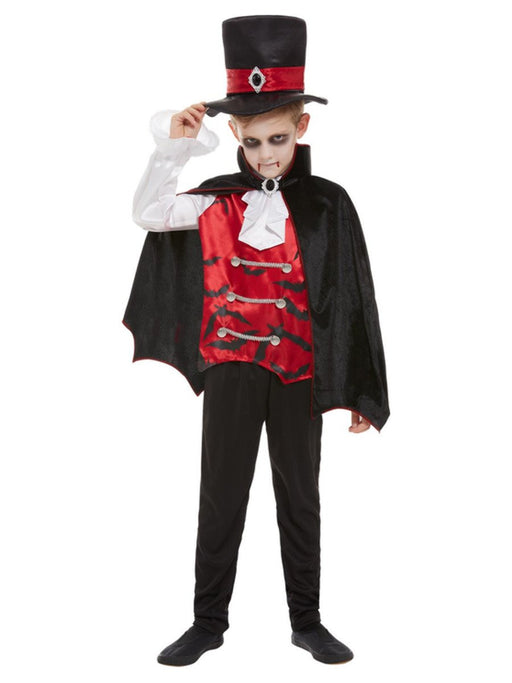 Vampire Boy Costume - The Ultimate Party Shop