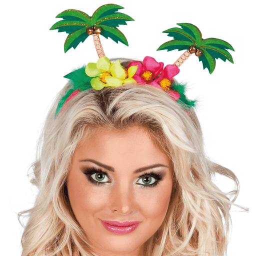 Hawaiian Palm Tree Headband - The Ultimate Balloon & Party Shop