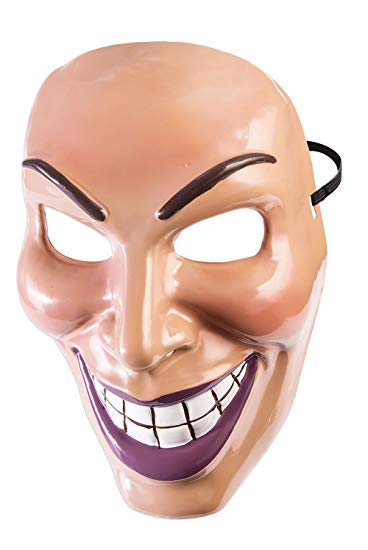 Evil Grin Mask (Purge) - Female - The Ultimate Party Shop