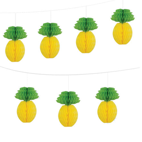 Honeycomb Garland - Pineapples - The Ultimate Party Shop