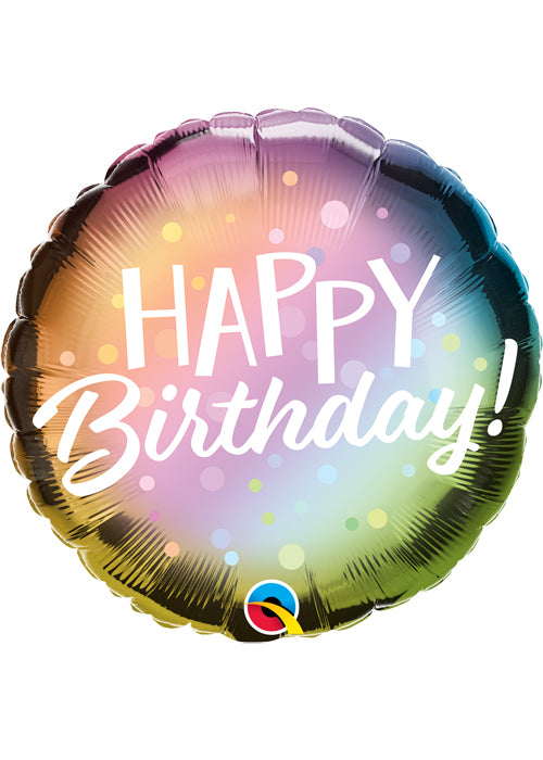 "18"" Foil Happy Birthday Metallic - The Ultimate Party Shop"