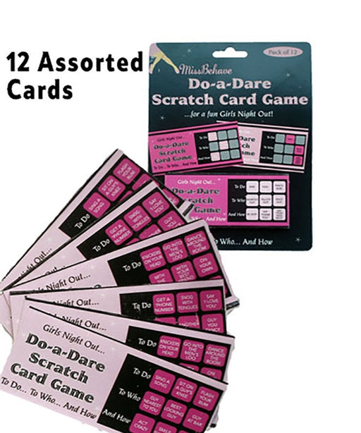 Hen Party Scratch Card Game - The Ultimate Balloon & Party Shop