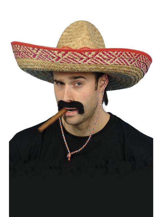 Mexican Straw Sombrero Hat - The Ultimate Party Shop