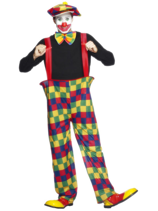 Clown Male (Hooped) Costume - The Ultimate Party Shop