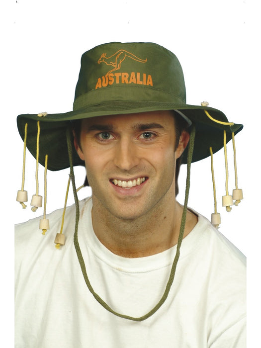 Australian Corkscrew Hat - The Ultimate Party Shop