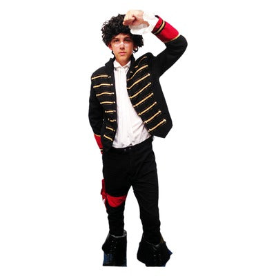 Adam Ant Hire Costume - The Ultimate Party Shop