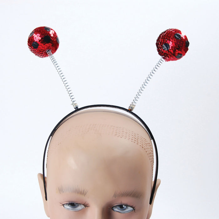 Sequin Head Boppers - Lady Bird - The Ultimate Party Shop