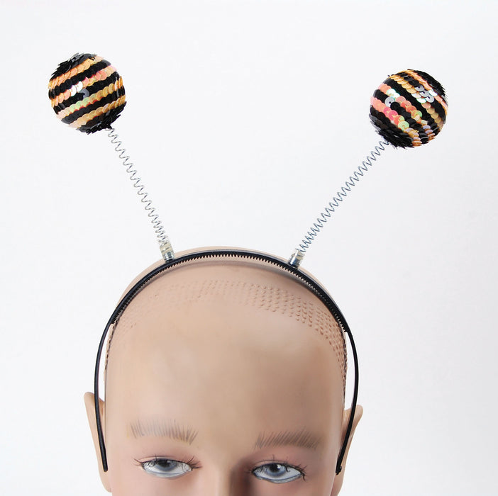 Sequin Head Boppers - Bee - The Ultimate Party Shop