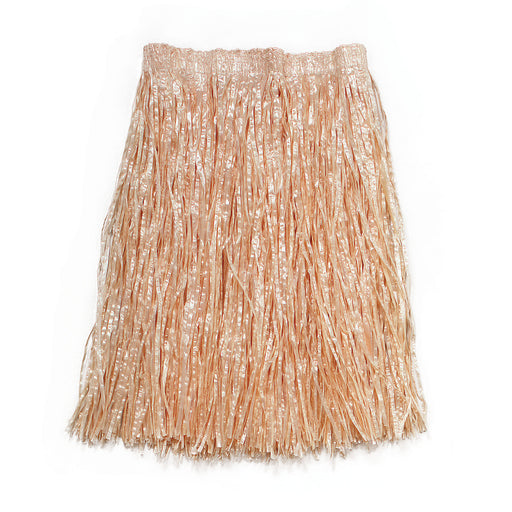Natural Coloured Grass Skirt - The Ultimate Balloon & Party Shop