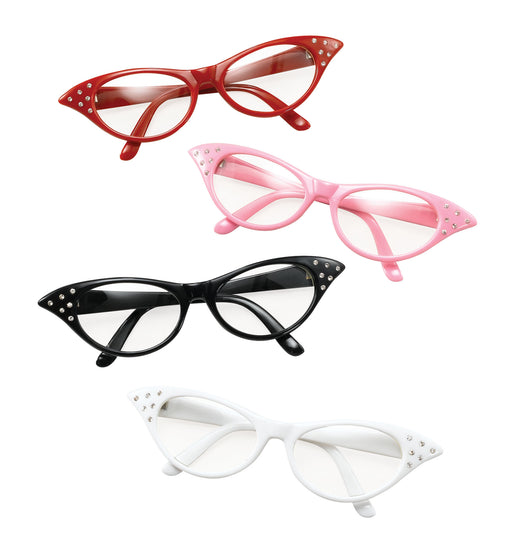 50's Rock & Roll Glasses - The Ultimate Balloon & Party Shop